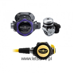 Automat AQUALUNG LEGEND LX SUPREME DIN ACD - LADY TWILIGHT + Octopus Legend